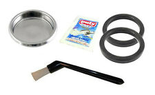 Gaggia Coffee Machine Cleaning Kit Puly Caff Blind Basket Brush Rubber Seals