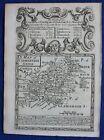 CARMARTHENSHIRE, WALES original antique map from 'Britannia Depicta', Bowen 1759