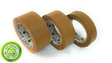 Paper Packaging Tape 25mm, 36mm, 48mm, Brown, Eco Logo, bio-based material 50m