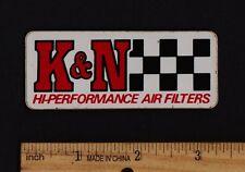 K&N AIR FILTERS Original STICKER Vintage Motocross Enduro Penton Husqvarna Maico
