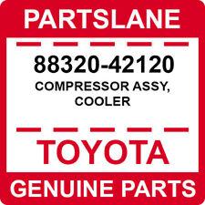 88320-42120 Toyota OEM Genuine COMPRESSOR ASSY, COOLER