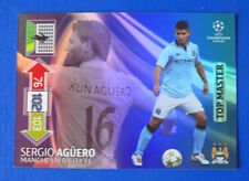CARD ADRENALYN CHAMPIONS LEAGUE 2012/13 - AGUERO - MANCHESTER CITY - TOP MASTER
