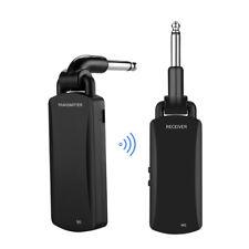 5.8GHz Wireless Guitar Audio Transmitter Receiver System 50M Transmission Range