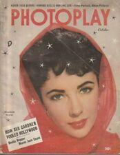 E921 Photoplay Oct. 1951 Vintage Movie Magazine
