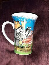 Paul Cardew Noah's Ark Bistro Mug - NEW