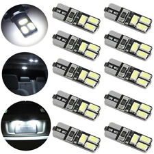 10 x T10 5630 6SMD W5W Car LED Width Light CANBUS No Error License Plate Lamp