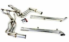 SBC Header w/ Resonated Side Pipes Fits 65-82 Corvette C2 C3 Stingray By OBX