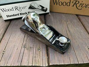 WoodRiver Standard Block Plane with Adjustable Mouth Wood River Planer