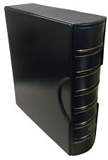 Coin Album Lighthouse Giant Grande 4 Rings Binder / Banknotes + Slipcase Black