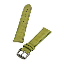 Invicta известь зеленый шириной 20 мм подлинный крокодила кожаный ремешок