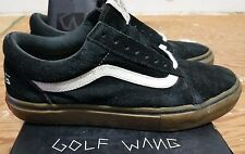 VANS X Golf Wang X Syndicate Old Skool Black Gum Sz 7.5 supreme wtaps wolf gang