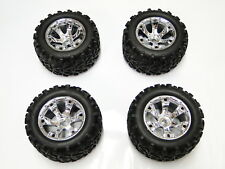 NEW TRAXXAS REVO 3.3 Wheels & Tires Set E REVO RR28