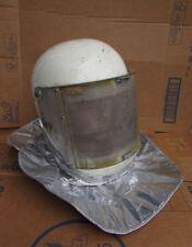 Vintage Space Age Military Fireman Fire Helmet Airport NASA