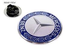 Genuine Mercedes Benz C-Class W204 piatto Cofano Badge Emblema Logo A2048170616 NUOVO
