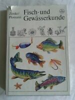 Fisch- und Gewässerkunde, DDR-Fachbuch 1982, Nachschlagewerk für Angelsportler