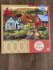 COUNTRY INN AND FARM David Maclean 1000 Piece Jigsaw Puzzle Ceaco
