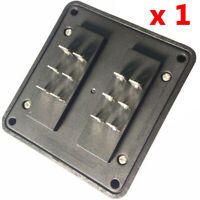 6-Way Car Blade Fuse Block Holder W/ Screw Terminal Waterproof Protection Cover