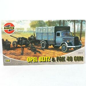 AirFix A02315 1:76 Opel Blitz and PAK 40 Gun Plastic Scale Model Kit