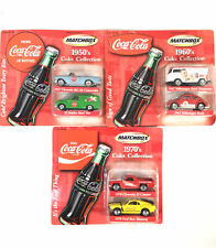 VTG 2001 Matchbox Coca Cola Two Pack 1950s, 1960s, 1970s  1970 Boss Mustang