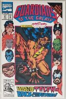 GUARDIANS OF THE GALAXY CO-STARRING THE INHUMANS ISSUE #37 MARVEL COMICS 1992