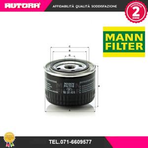 W9144 Filtro olio (MANN FILTER).