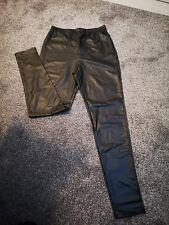 Leather Look Pants Leggings
