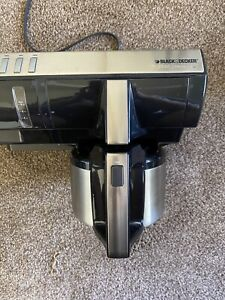 Black + Decker SpaceMaker Thermal SDC850 8 Cup Coffee Maker Under Cabinet  Black