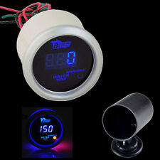 52mm Blue Digital LED Electronic Water Temperature Gauge Universal with Holder
