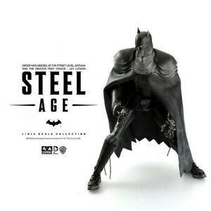 ThreeA Ashley Wood DC Steel Age Batman (Night Edition) 1/6 (UNOPENED)