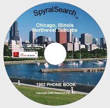 IL - Chicago's Northwest Suburbs 1982 Phone Book