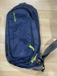 Pacsafe Venturesafe 325 GII Anti-Theft Crossbody Sling Travel Bag Blue