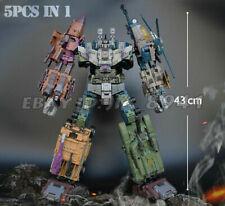 "JINBAO Bruticus 5in1 Decepticons 17"" Oversize Transformers Action Figure NEW Toy"
