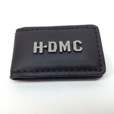 Harley-Davidson Mens Magnetic Money Clip HDMC Embedded Font Black MC8537L-BLK