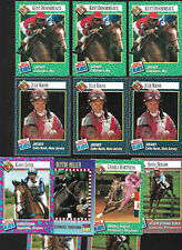 12)Lot SI for Kids HORSE RACING/Jockey/Equestrian Sports Cards-Juile Krone *RARE