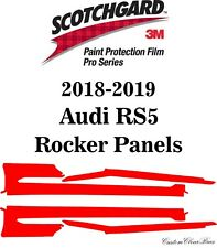 3M Scotchgard Paint Protection Film Pro Series Clear Pre-Cut 2018 2019 Audi RS5
