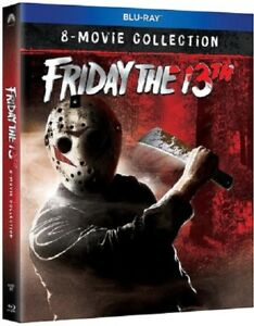 Friday The 13Th The Ultimate Collection 8 Movie New Blu-ray Box Set IN STOCK