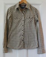 Tommy Hilfiger Shirt Western Style Checked Size S (Small)