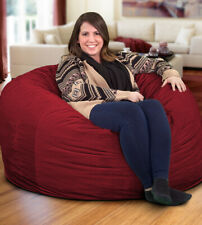 Cordaroy queen bean bag cover - Maroon Lightly used - Almost Brand New