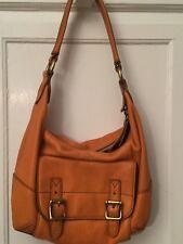 Fossil Tate Small Hobo Orange Bag 👜