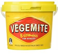 1 x 950g Vegemite Tub Jar By Kraft Australian Made Vegan Kosher Halal Vitamin B