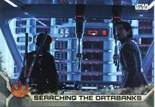 Star Wars Rogue One Series 2 Gray Base Card #70 Searching the Databanks