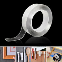 Magic Nano Double Sided Tape 16.50FT//5 Meters Zhjdongtuo Fashion Tape Double Sided Heavy Duty Double Sided Tape Rug Adhesive Tape Mounting Carpet Tape for Kitchen Office Home