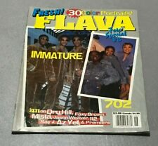 Vintage 90s 1997 FRESH! FLAVA Hip-Hop Rap Magazine RARE! 30 Color Portraits!