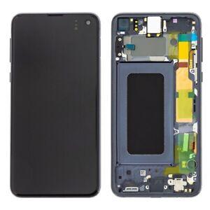 LCD OLED S10e G970F ECRAN LCD TACTILE SAMSUNG GALAXY AVEC CHASSIS BLEU