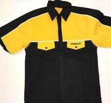 Wulfsport Yellow Pit Shirt Size Medium  Large Motorbike Motocross MX Leisure