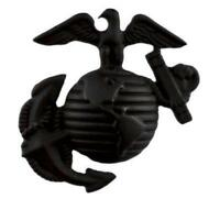 USMC Marine Corps Eagle Globe Anchor Left (Black) Hat or Lapel Pin H14128D81