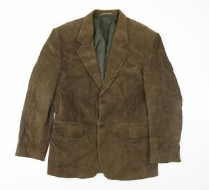 Preworn Mens Brown  Corduroy Jacket Sport Coat Size 36