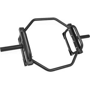 CAP Barbell Traditional Olympic Trap Shrug Bar, Hex Deadlift 2 inch Home Gym