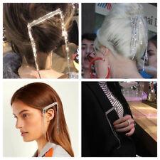 Women Tassel Bling Crystal Hair Clip Hair Pins