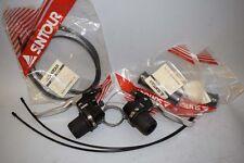 Suntour S1 3x7 speed shifter brake lever set twist Vintage mtb black NIB NOS